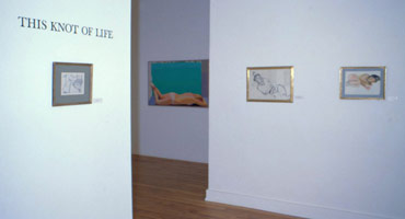 This Knot of Life Part I<BR>installation photography, 1979