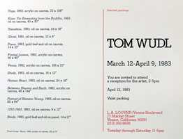 Tom Wudl announcement, 1983