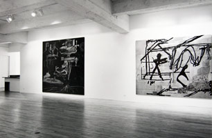 Tony Berlant installation photography, 1990