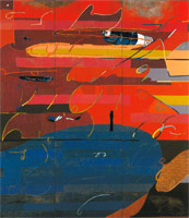 Sunrise at Sunset Beach, 1987<BR>