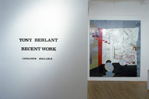 Tony Berlant installation photography, 1988