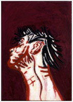 Self Portrait Neck (PC883), 1988<BR>