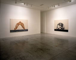 Tony Bevan installation photography, 1998