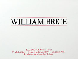 William Brice announcement, 1984