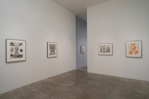 Installation photography, William Brice: Drawings 1960 - 1985