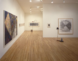 William T. Wiley installation photography, 1991