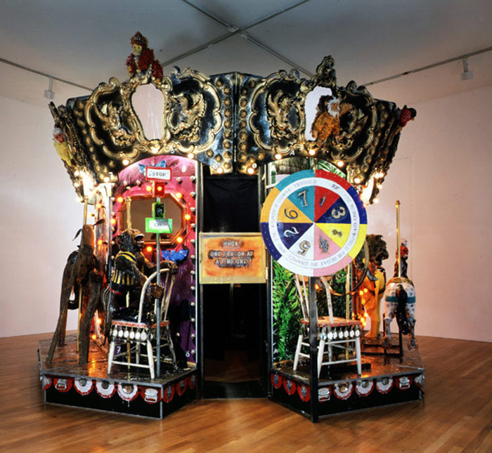 Kienholz: The Merry-Go-World or Begat By Chance And The Wonder Horse Trigger