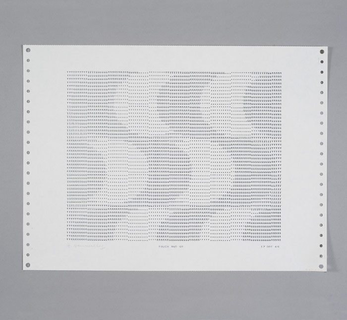 Frederick Hammersley: The Computer Drawings 1969