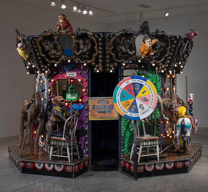 Edward and Nancy Kienholz: The Merry-Go-World or Begat by Chance and the Wonder Horse Trigger