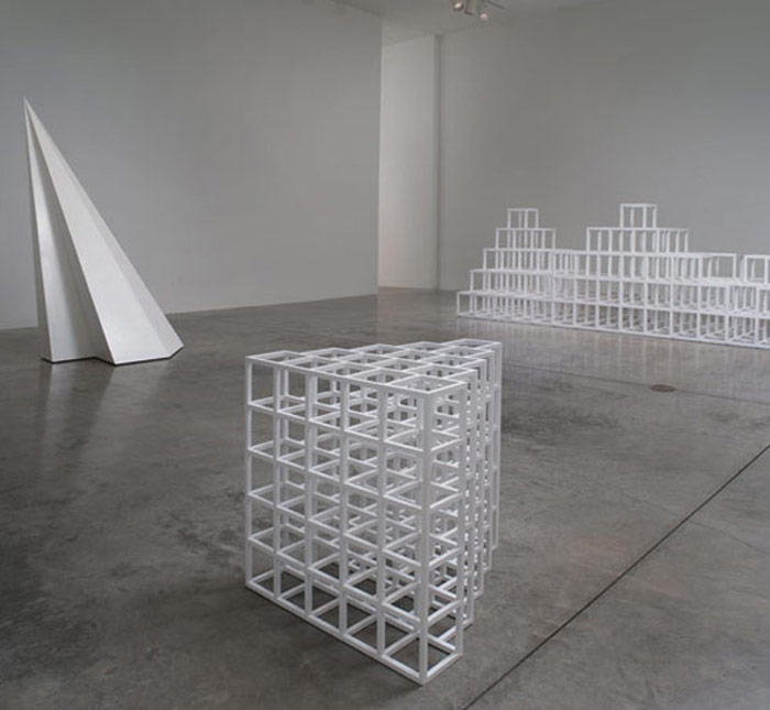 Sol LeWitt<BR>Structures, Works on Paper, Wall Drawings 1971 - 2005