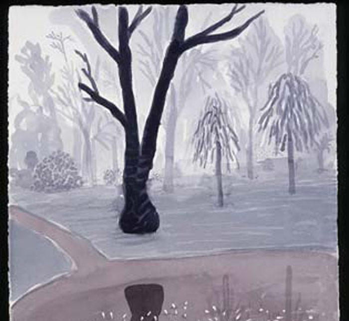 "David Hockney: ""Hand Eye Heart""<br>Watercolors of the East Yorkshire Landscape"