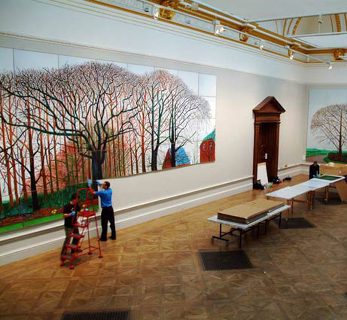 David Hockney: Summer Exhibition 2007