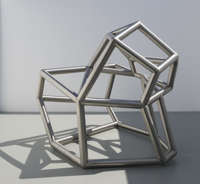 Richard Deacon: Siamese Metal #6