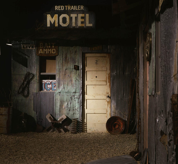 Michael C. McMillen: Red Trailer Motel, an installation with film