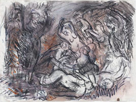 Leon Kossoff: Drawing Paintings