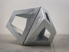 3 x 3<BR>Sculpture by Richard Deacon, Joel Shapiro and Peter Shelton<BR>Painting by Imi Knoebel, Robert Mangold and Jason Martin