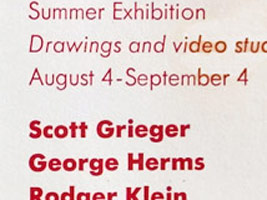 Summer Exhibition: Drawings video studies