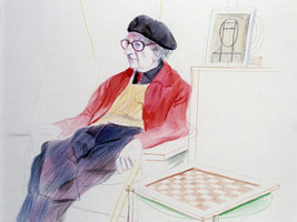 David Hockney, A Drawing Retrospective
