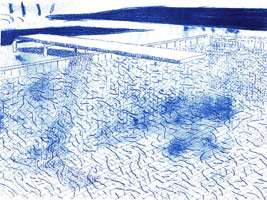 David Hockney<br>Twenty-Two Lithographs: Pools, Palm Trees, Portraits and Flowers 1978 - 1980
