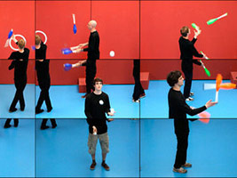 David Hockney: The Jugglers