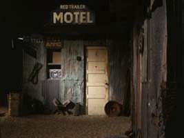 Michael C. McMillen<br>Red Trailer Motel, an installation with film