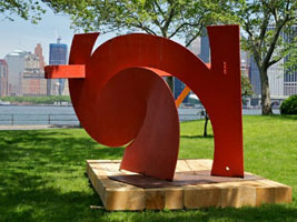 Mark di Suvero at Governors Island