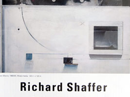 Richard Shaffer: Paintings and Other Evidence
