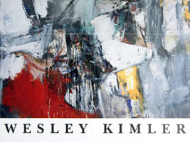 Wesley Kimler: Recent Paintings