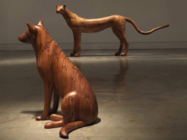 Gwynn Murrill: Early Wood Sculpture
