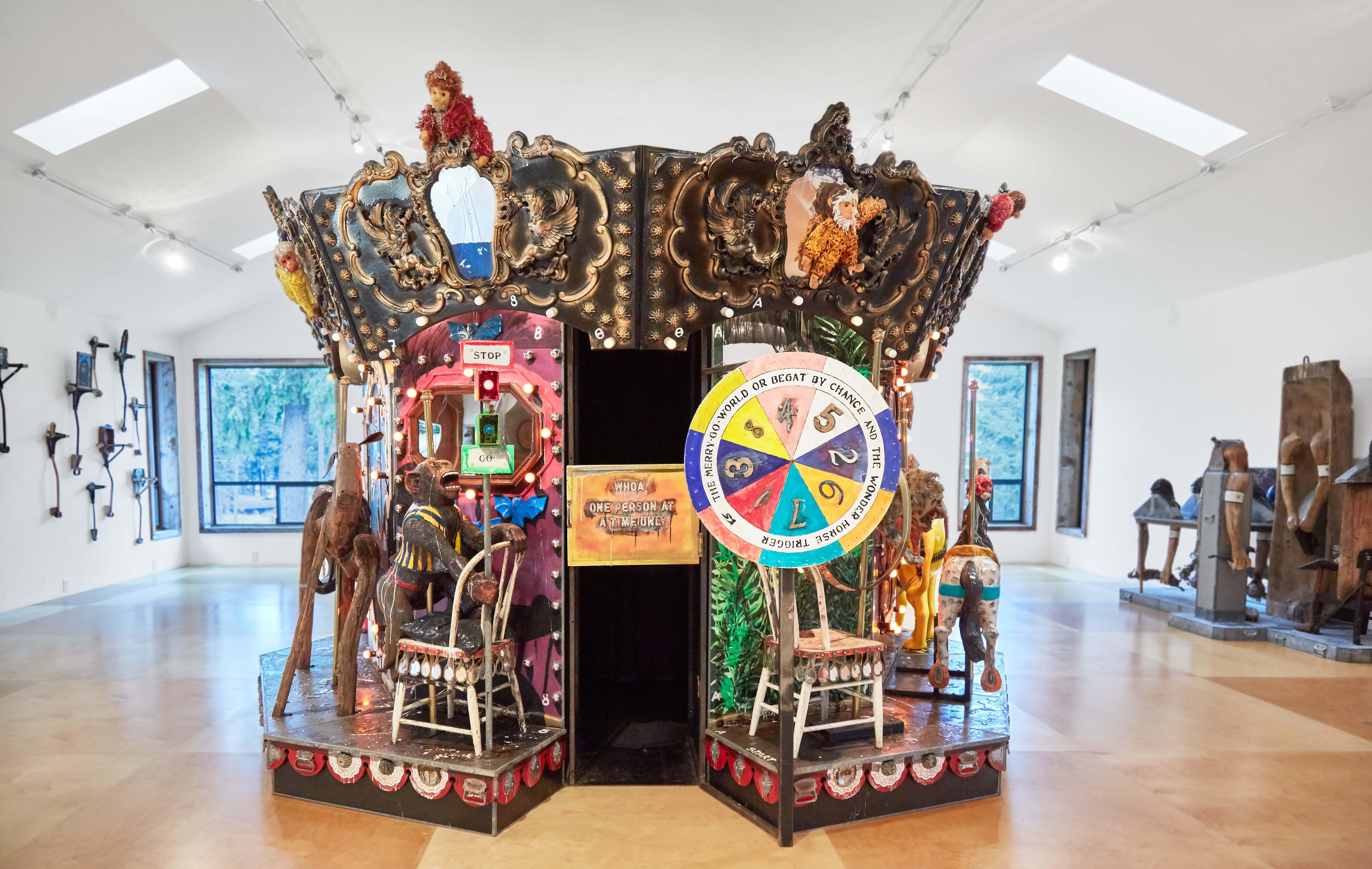 "Opening reception: Kienholz ""The Merry-Go-World"""