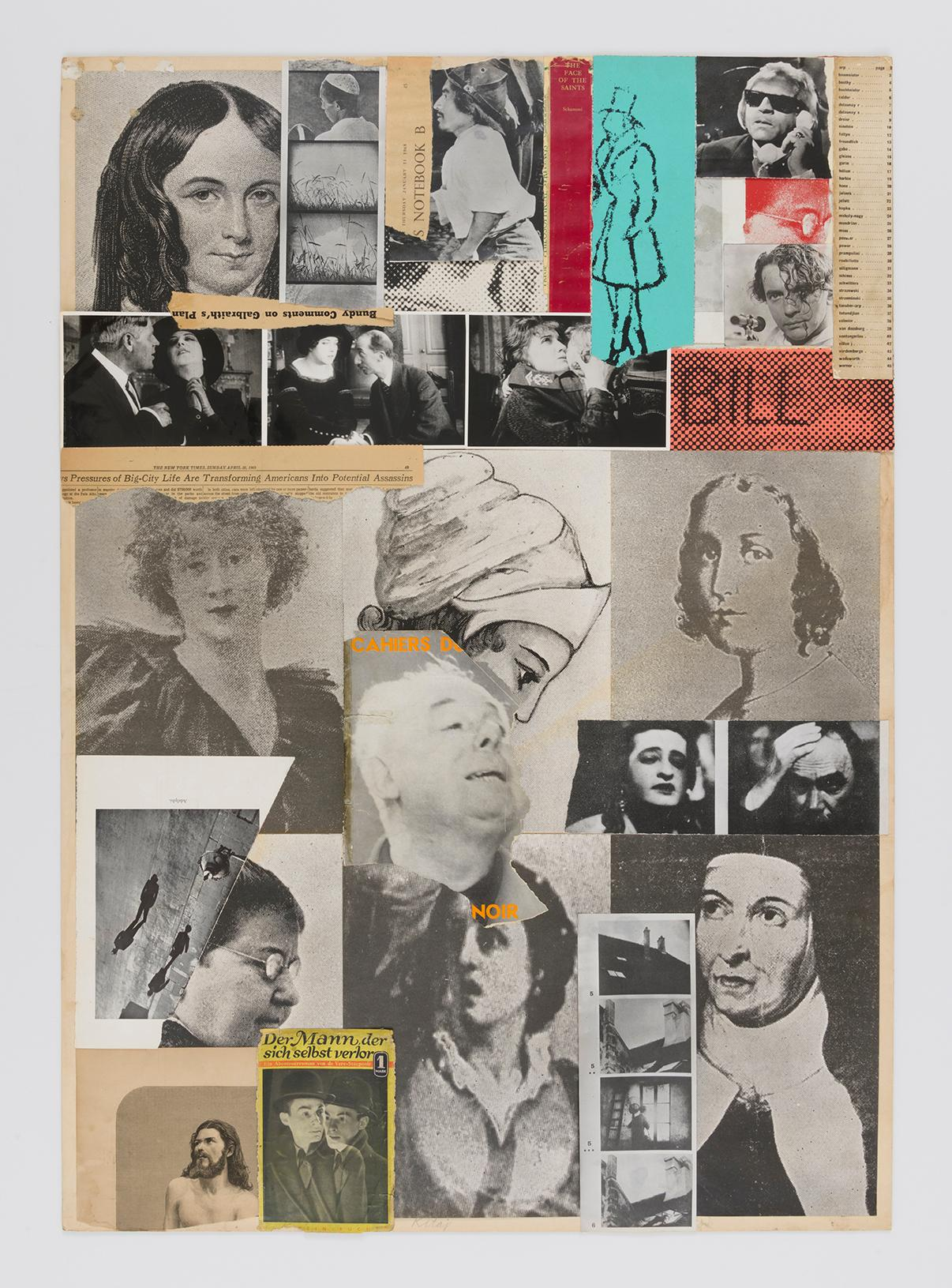 "Opening reception: R.B. Kitaj ""Collages and Prints, 1964-75"""