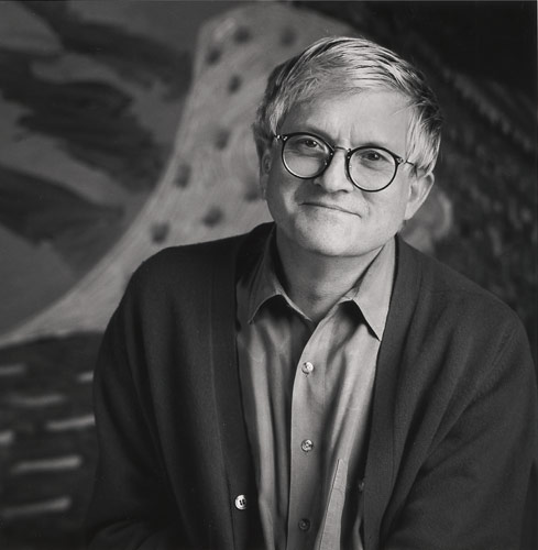 Portrait of David  Hockney. Photo: Jim McHugh.