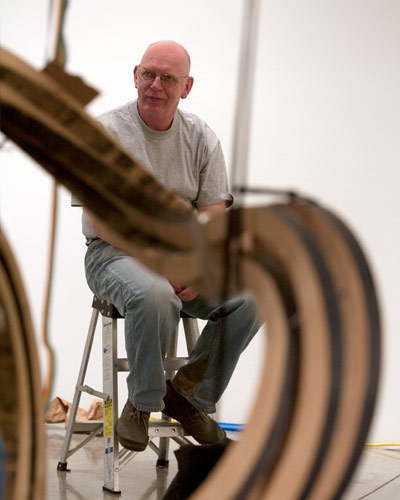 Portrait of Richard  Deacon. .