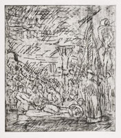 The Lamentation over the Dead Christ No 2, 1999<br>