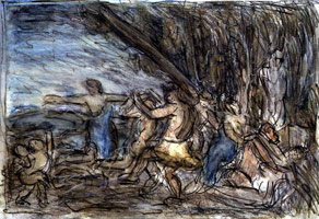 Bacchanal before a Herm #3, 1997<br>