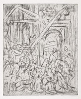 From Veronese: The Adoration of the Kings, 1990s <br>
