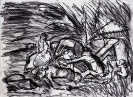 The Lamentation on the Dead Christ #1, 1995 <br>