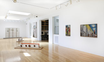Installation photography, Charles Garabedian: Works from 1966 - 1976