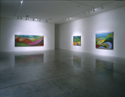 David Hockney installation photography, 1998