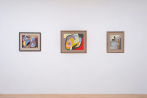 Installation photography, Frederick Hammersley: Organics and Cut-ups, 1963 - 1965