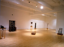 Peter Shelton installation photography, 1993