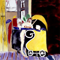 R.B. Kitaj<br>Los Angeles No. 13, 2002<BR>