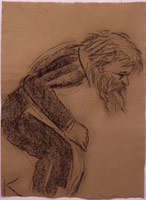 R.B. Kitaj<br>Crouch Dance (Self Portrait), 2001 – 2003<BR>