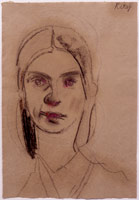 R.B. Kitaj<br>Emily Dickinson, 2000 – 2003<BR>