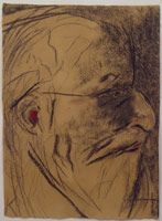 R.B. Kitaj<br>Self Portrait 2003, 2002 – 2003<BR>