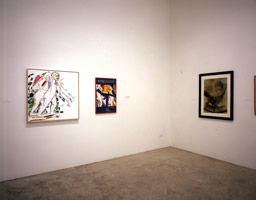 Installation photography, R.B. Kitaj: Los Angeles Pictures