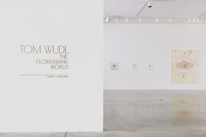 Installation photography, Tom Wudl: The Flowerbank World