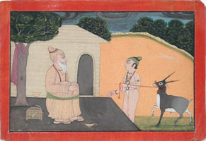 Unknown (India, Punjab Hills, Jammu or Mankot)<br>