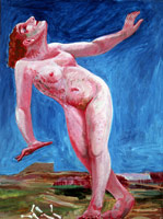 Prehistoric Figure, 1978 - 1980<BR>