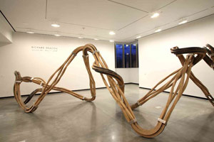 Installation photography, Richard Deacon, Portland Art Museum, 26 January - 1 June 2008<BR>